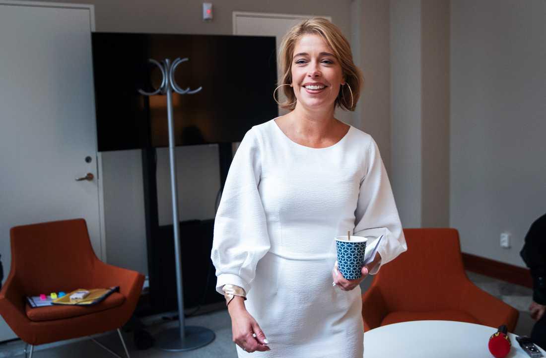 Annika Strandhäll, socialförsäkringsminister (S)