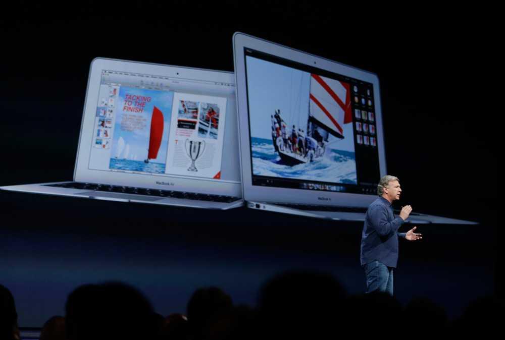 Här visas de nya Macbook Air