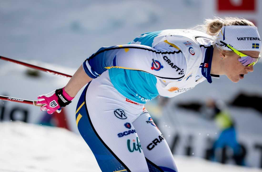Maja Dahlqvist har ett VM-guld att försvara.