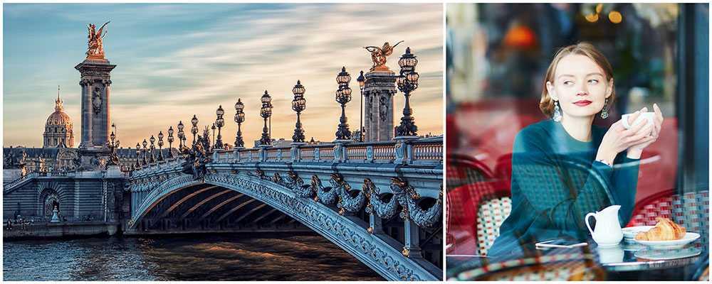 Njut av lyxiga Paris.