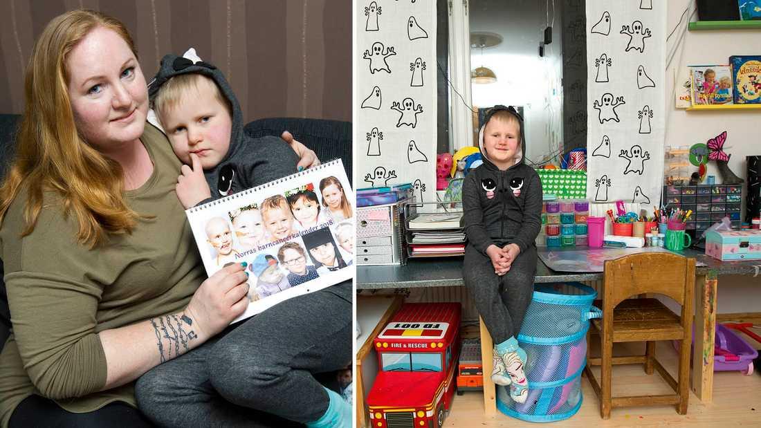 Jannice Eklöfs dotter Juva var 5 år när hon fick sin diagnos. Nu brinner Jannice för att samla in pengar till Barncancerfonden.