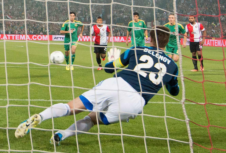 Kuban Krasnodars målvakt Alexander Belenov.