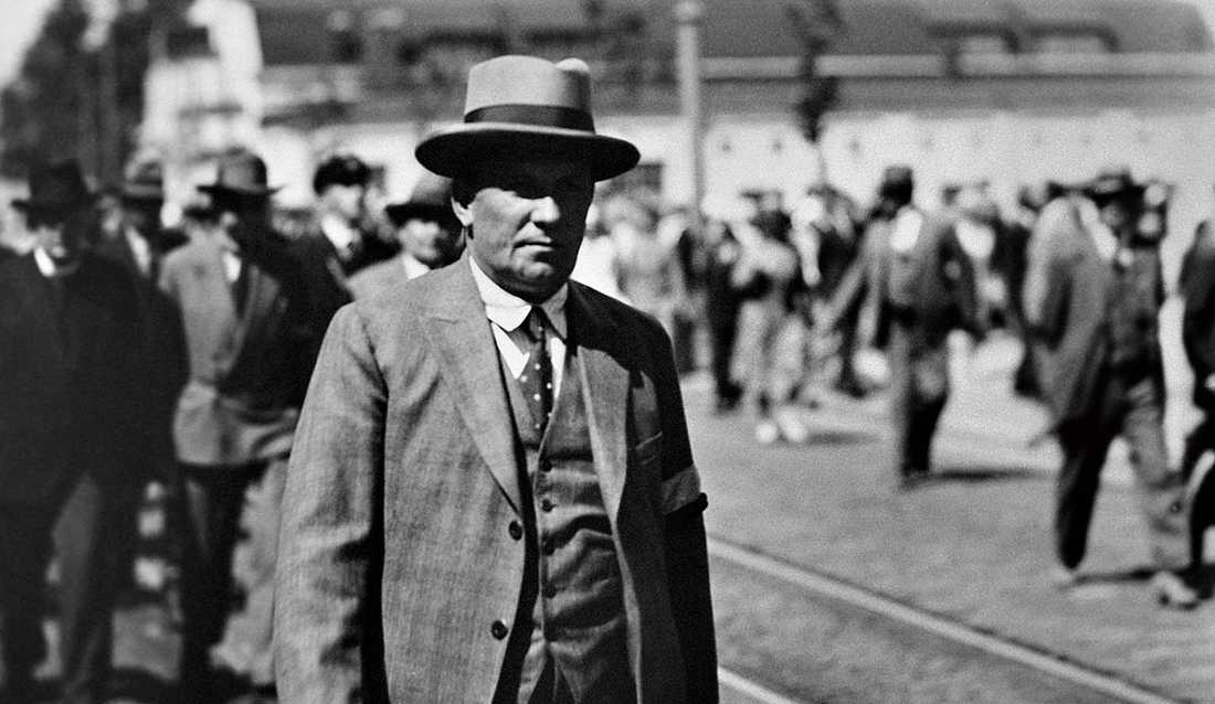 Lapporörelsens ledare Vihtori Kosola 1930.