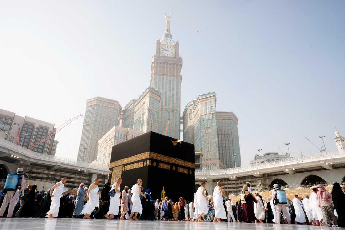 Saudiarabien öppnar upp för vallfärder till Mecka. Arkivbild.