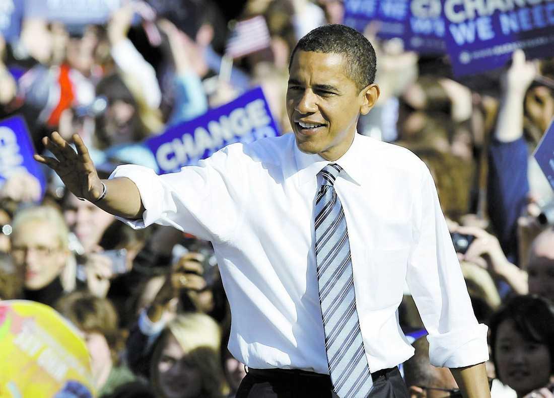 Barack Obama blir USA:s näste president. Valet av honom väcker drömmar om ett annat USA, kanske till och med en annan värld.