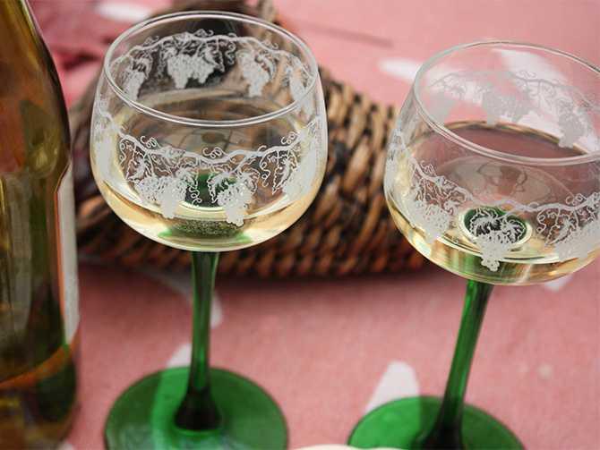 Alsace-viner har en egen stil.
