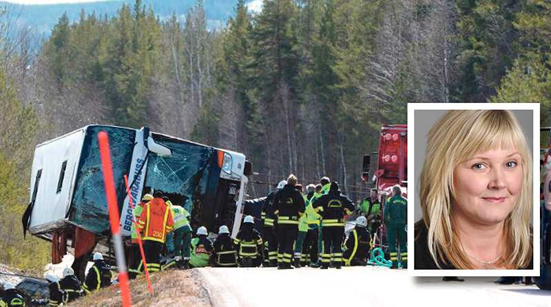 Låt de tre högstadieelevers liv som togs och de cirka 40 personer som skadades i den svåra bussolyckan i Sveg få betydelse för framtiden, skriver Marie Nordén.