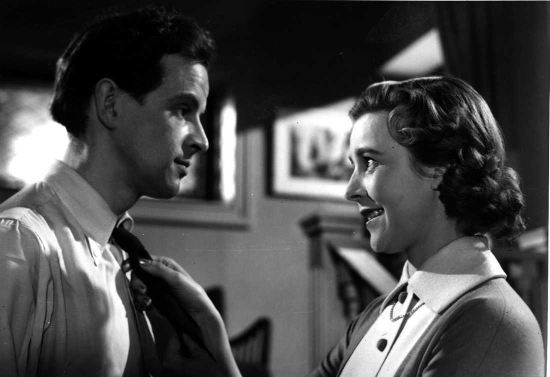 """1956 Ingvar Kjellson och Alice Babs i """"Swing it, fröken""""."""