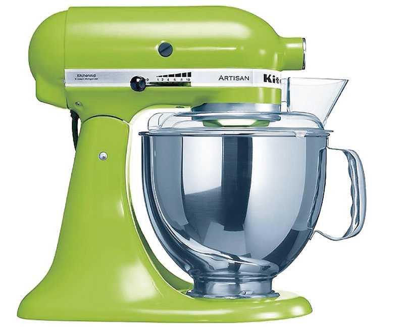 Den klassiska assistenten från Kitchen aid, här i en äppelgrön färg. Finns hos www.inreda.com, 5995 kr.