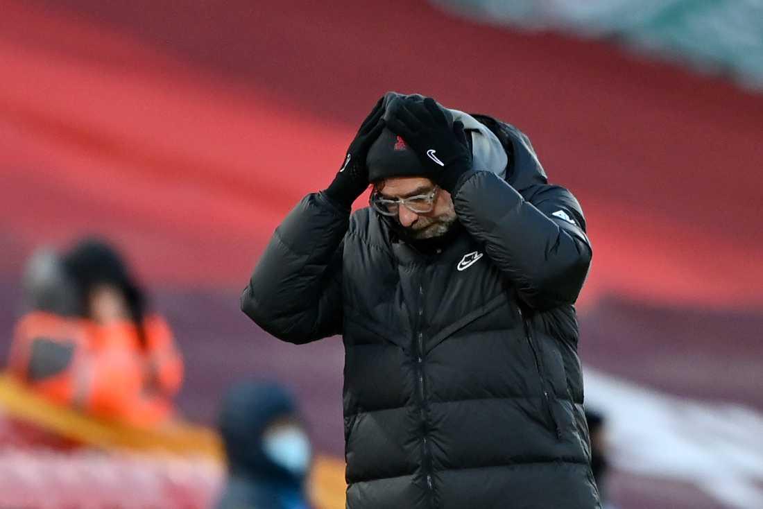 Jürgen Klopps Liverpool är inne i en kräftgång i Premier League