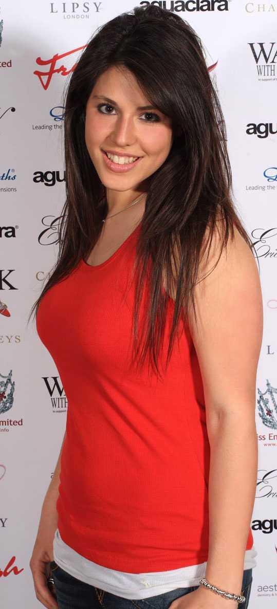 Leah Green, Miss London, var för tjock för att bli modell.