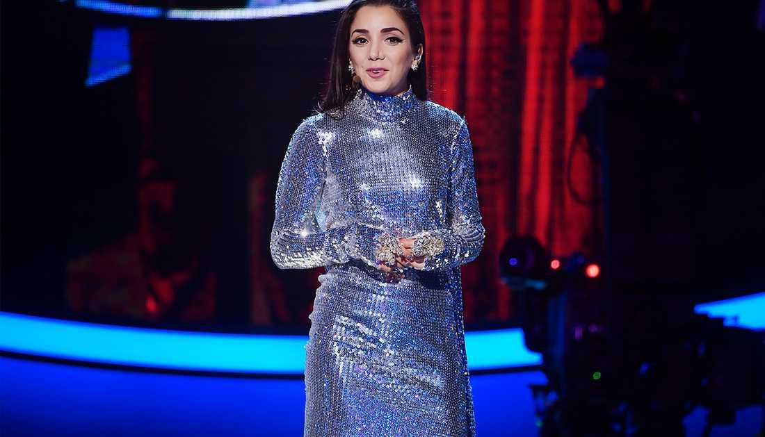 Gina Dirawis outfit den 3 november.