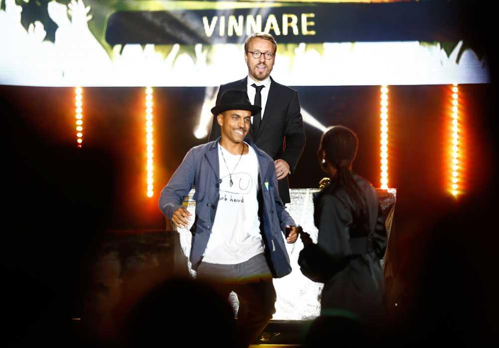 Årets manliga liveartist – Timbuktu.