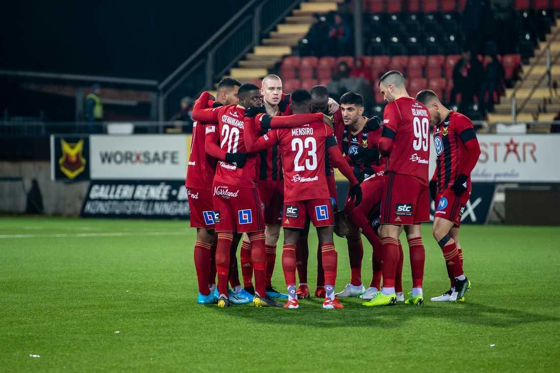 Östersund får spela kvar i allsvenskan även nästa år. Arkivbild.