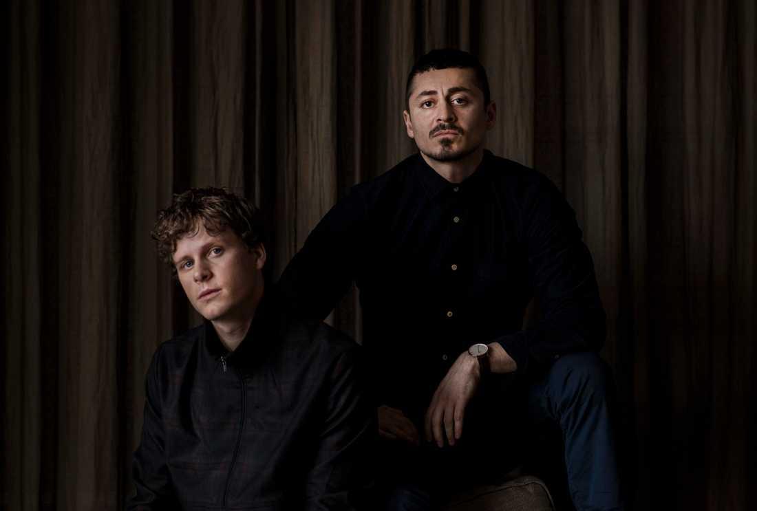 Adam Pålsson och Alexej Manvelov.