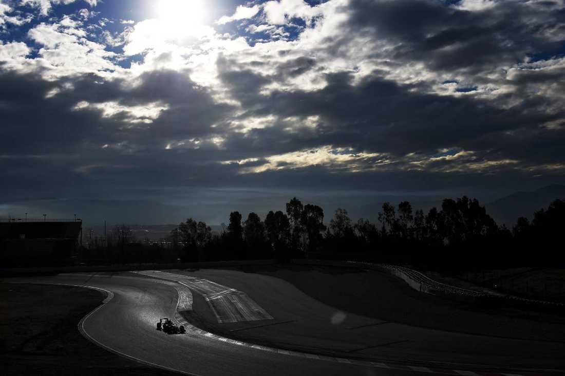 Marcus Ericsson testkör för Sauber F1 på Circuit de Catalunya, Barcelona i februari tidigare i år. Foto: GETTY