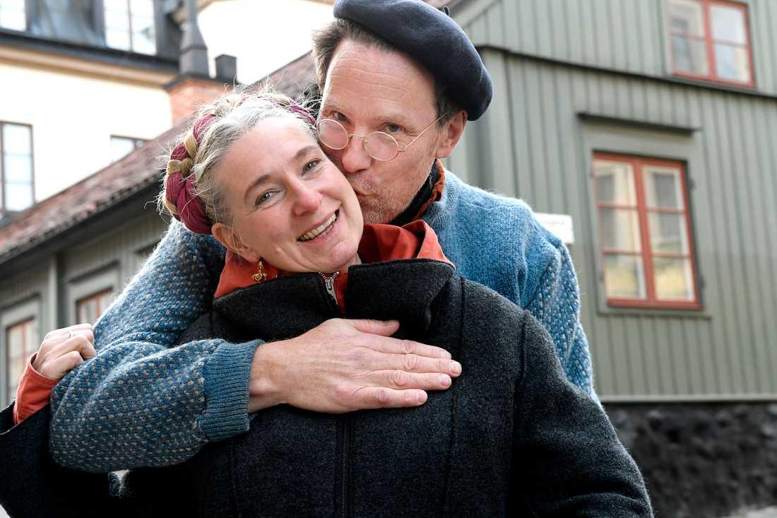 Gustav och Marie Mandelmann har nyligen fått sitt första barnbarn.