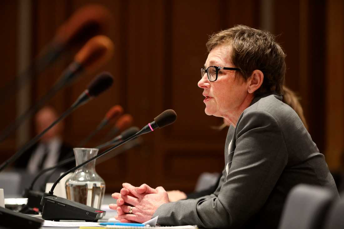 Transportstyrelsens förra generaldirektör Maria Ågren i KU.