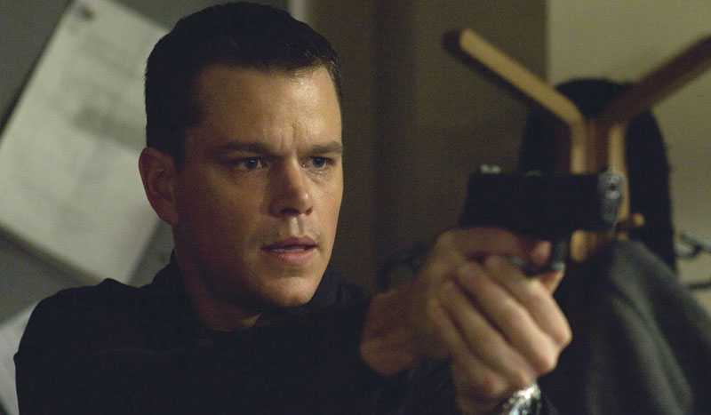 Matt Damon som Jason Bourne.