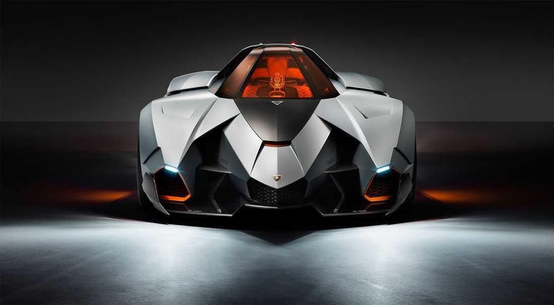 Lamborghini Egoista var ett koncept som inspirerades av attackhelikoptrar. Bilen har aldrig satts i produktion, men Lambo har i höstas registrerat Egoista som varumärke – så vem vet...