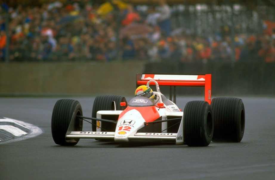 Ayrton Senna 1988 McLaren-Honda.