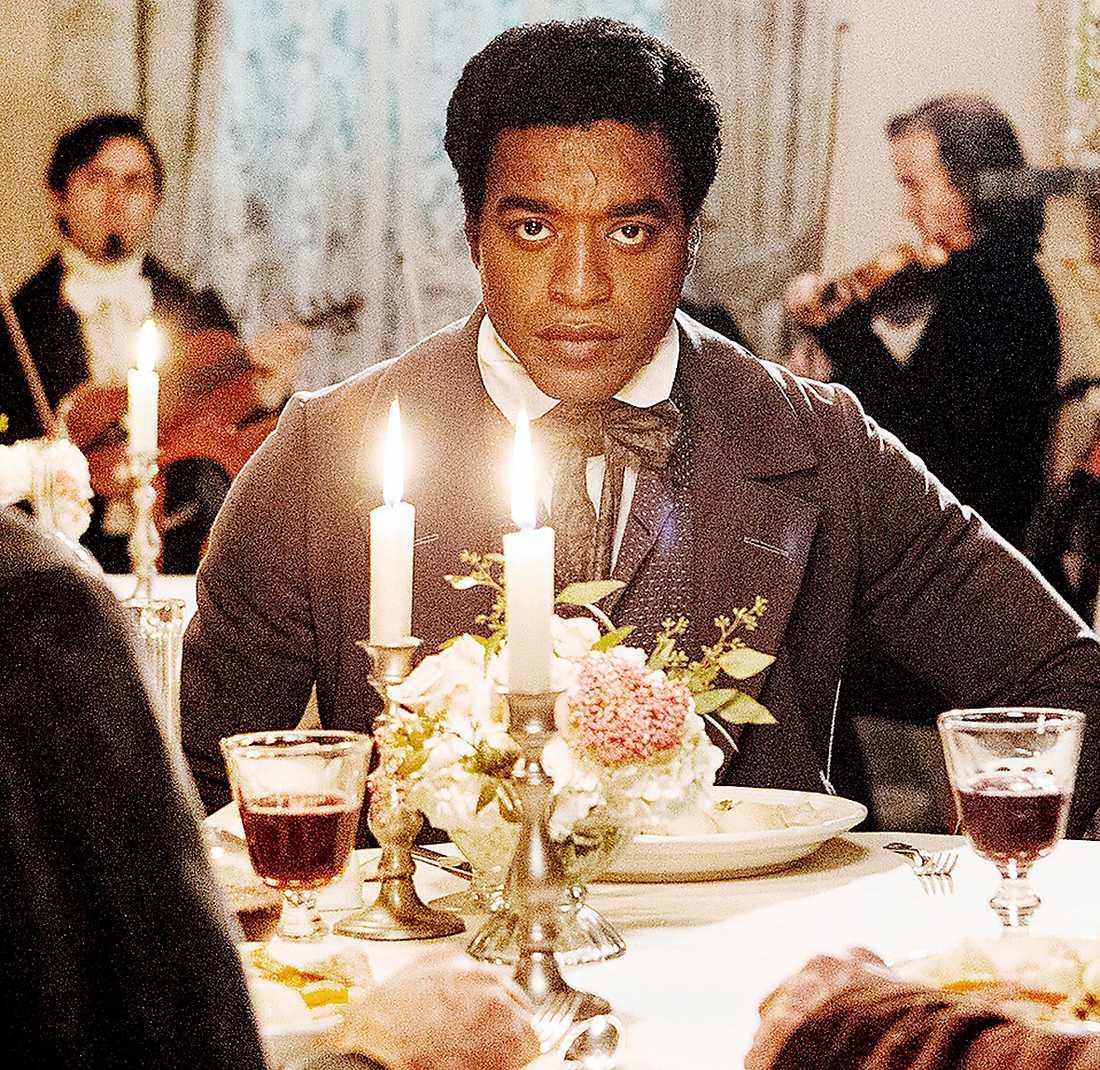 """Chiwetel Ejiofor i """"12 years a slave"""", som visas i kväll på Stockholms filmfestival och har biopremiär 20 december."""