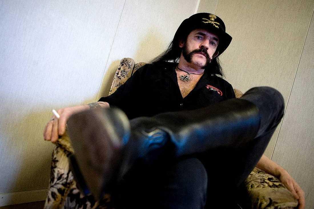 Lemmy Kilmister har tidigare tvingats få sjukhusvård.