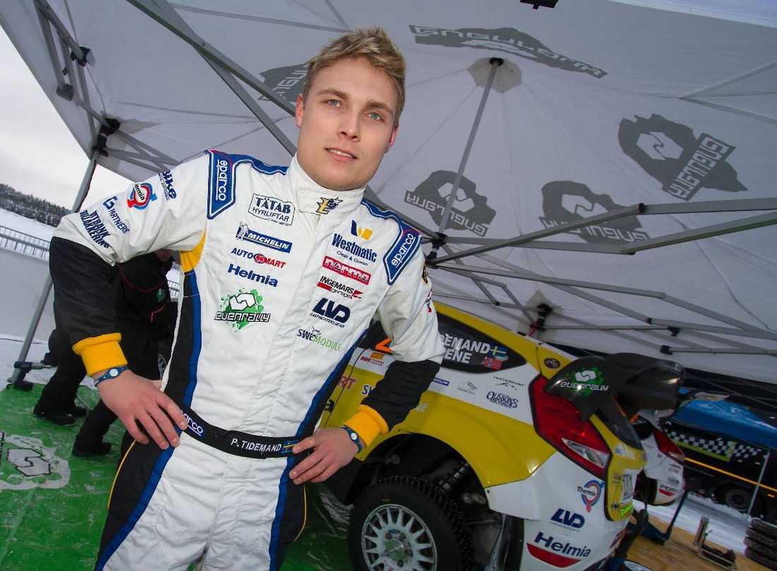 Han vann junior-VM. Nu får han chansen i WRC.