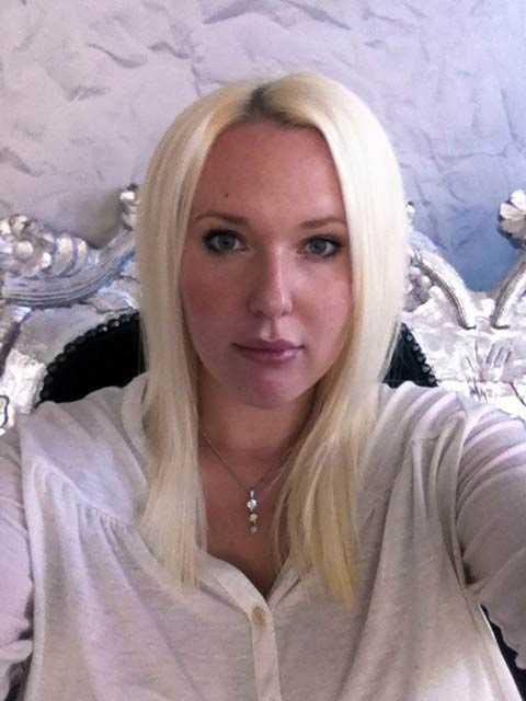Marie Ossbring, 26, utförde första hjälpen på den skjutna mannen.