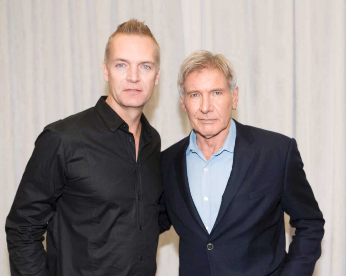 Nöjesbladets Magnus Sundholm träffar Harrison Ford.
