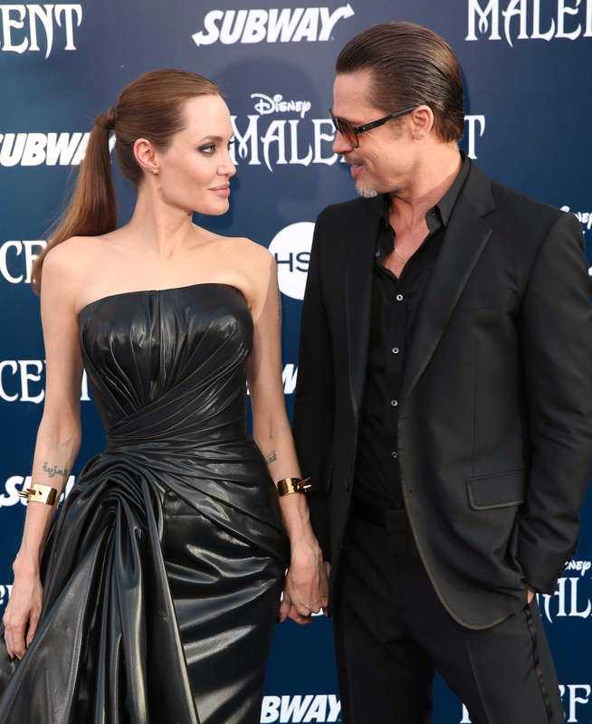 Brangelina. Angelina Jolie och Brad Pitt på röda mattan för två år sedan.