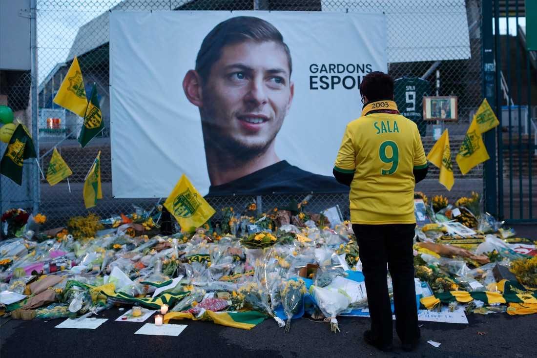 Emiliano Sala omkom i en flygkrasch.
