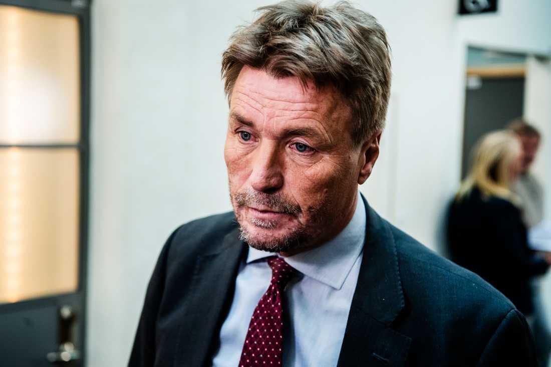 Målsägandets advokat Thomas Bodström.
