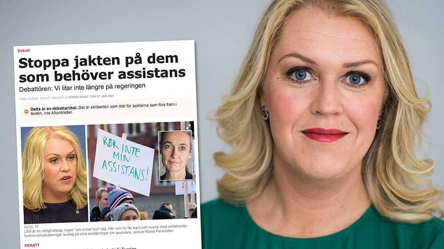 Ingen ska behöva tveka över regeringens intentioner. Den som har rätt till assistans ska få det, skriver Lena Hallengren.