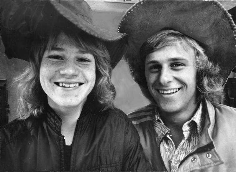 Ted Gärdestad och Björn Borg var två av Sveriges mest lovande tonåringar i tennis.
