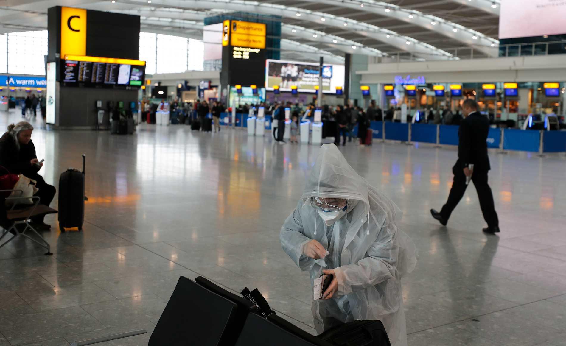 Tidig smitta från Storbritannien och USA