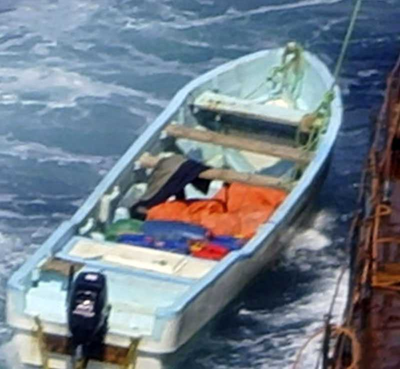 Det var i onsdags som piraterna attackerade det kinesiska fartyget.