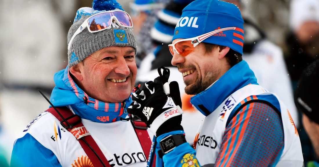 Markus Cramer och Sergej Ustiugov