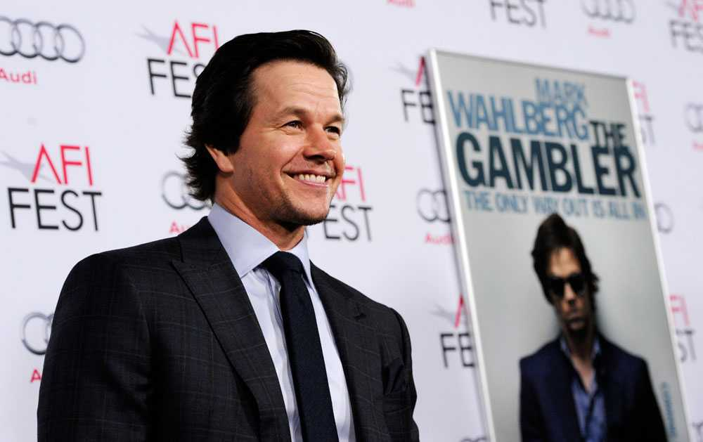 "Mark Wahlberg gick ner 30 kilo inför rollen i ""The Gambler""."