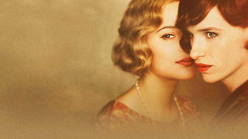 "Alicia Vikander och Eddie Redmayne i ""The danish girl""."