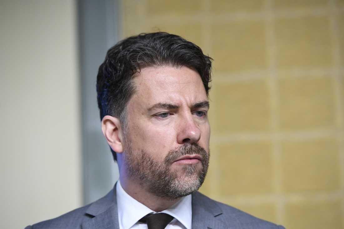 Mikael Ribbenvik, generaldirektör för Migrationsverket, tillträdde i maj 2017. Arkivbild.