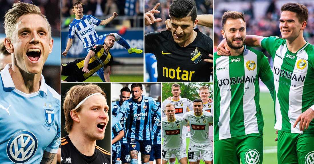 Spelarna Och Lagen Som Imponerat Mest I Allsvenskan Aftonbladet