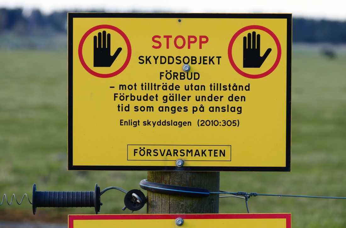 Arkivbild. Två tyska medborgare har dömts i Uppsala tingsrätt för obehörigt tillträde till skyddsobjekt.