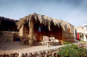 Bo billigt i bungalow vid Shark Bay.