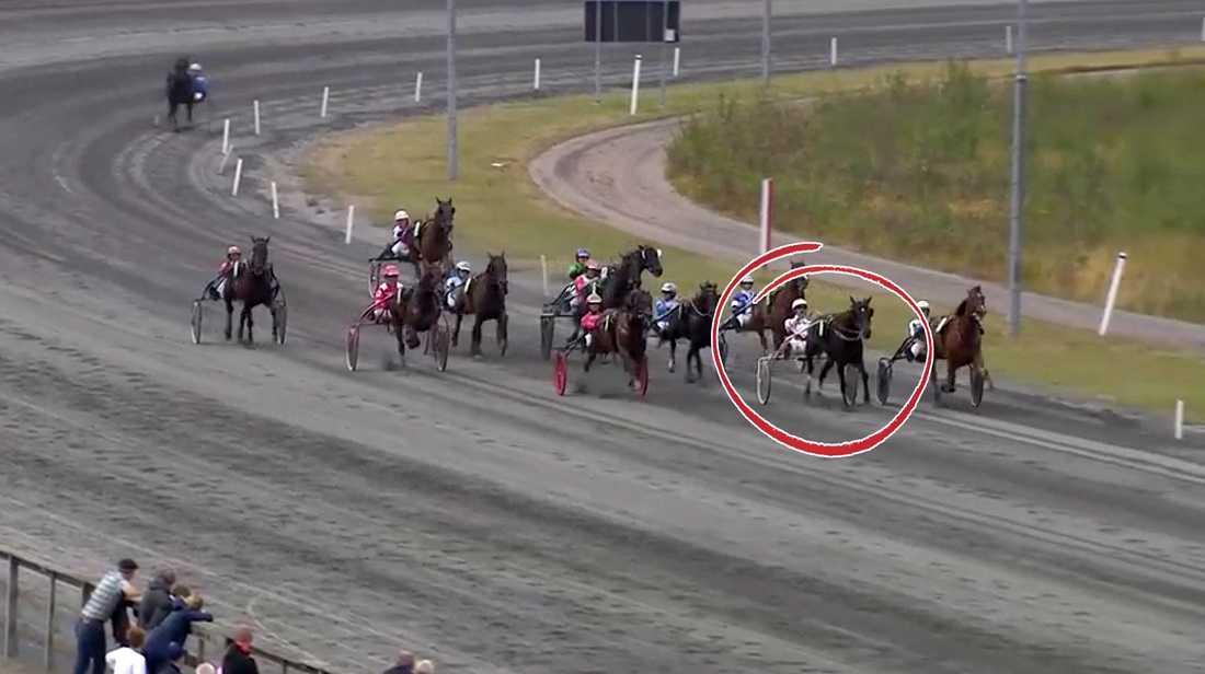 Viktoria Neo vid andraplatsen på Tingsryd näst senast.