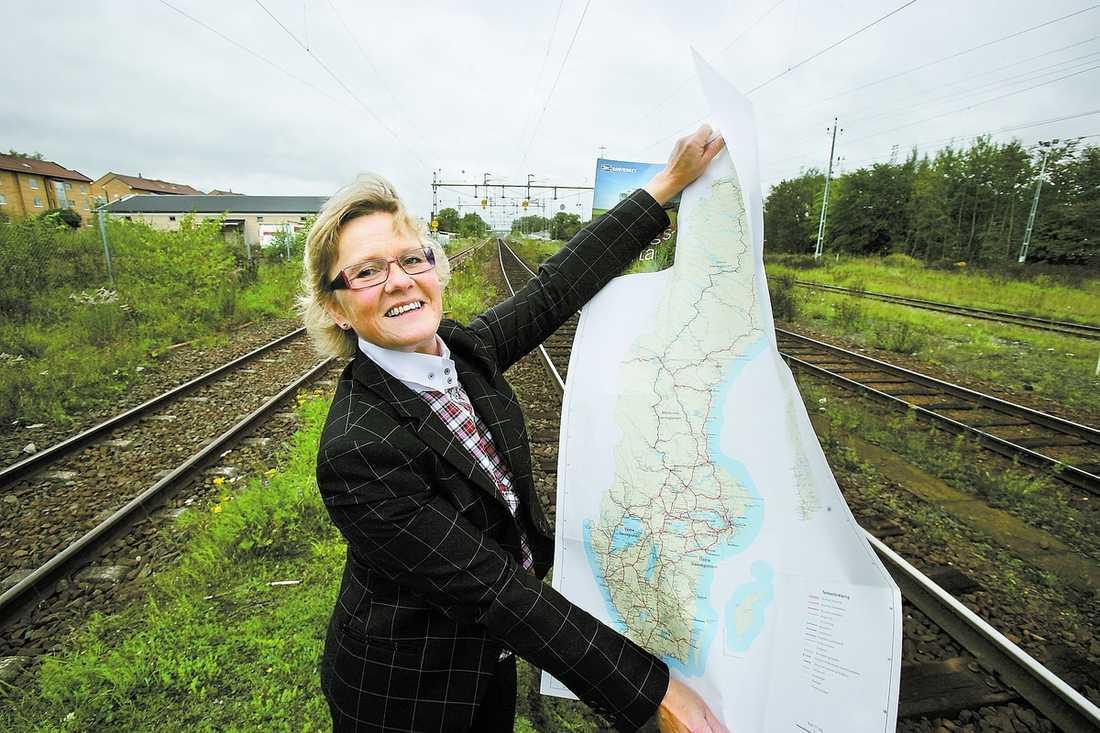 """STORSATSAR """"Brukaravgifter tycker jag är logiskt"""", säger Åsa Torstensson, infrastrukturminister om planerna att avgiftsbelägga nya projekt."""