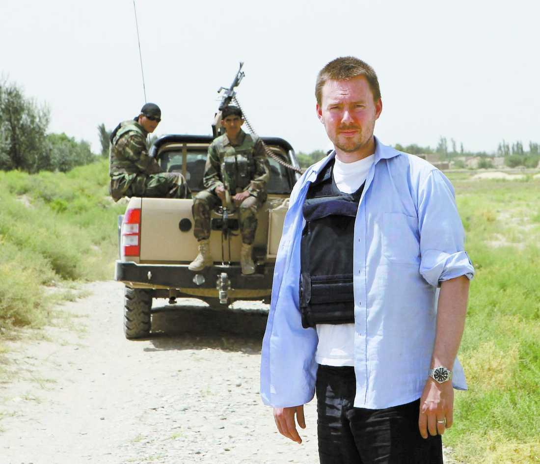 Aftonbladets Mattias Carlsson på plats i Afghanistan.