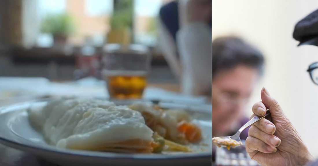 """Hemtjänsten i Skellefteå har serverat """"bantarmat"""" till de äldre, enligt Frode Slinde, docent vid GU."""