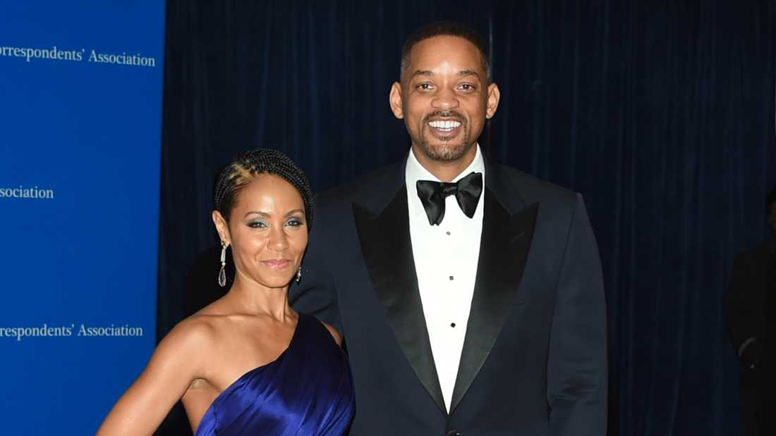 Jada Pinkett Smith och Will Smith.