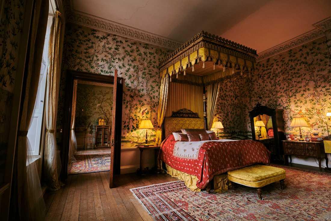 Det är första gången som gäster kan övernatta i kungasviten.